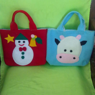 Crafts from Flanel-bags