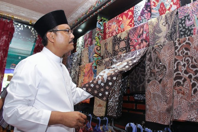 Gus Ipul Batik Crafts Center