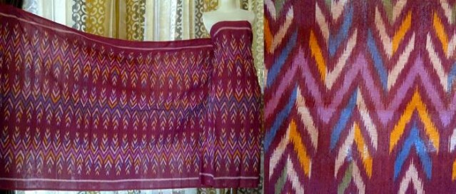 Weaving handicraft typical of Central Java