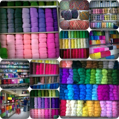 Various Kinds of Knitting Yarn