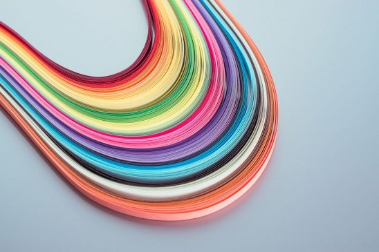 Make a quilling paper Quilling Paper
