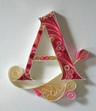 Paper Quilling – Art of rolling paper 3