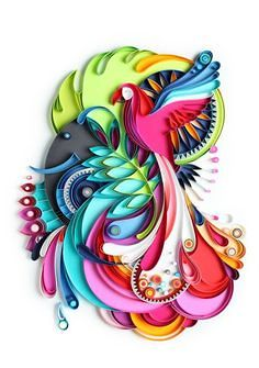 Paper Quilling – Art of rolling paper 6