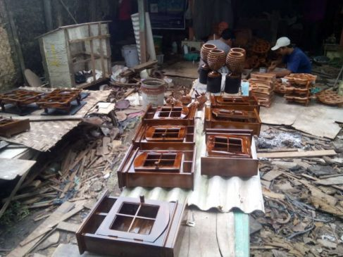 Wood Waste Crafts typical of East Java