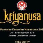 Pameran Kerajinan Nusantara Kriyanusa 2018 logo