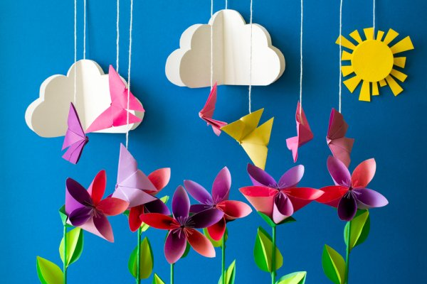 10 Creative ideas to welcome New year-Ornaments of paper 6