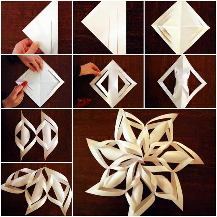 10 Creative ideas to welcome New Year-Ornament of paper 9