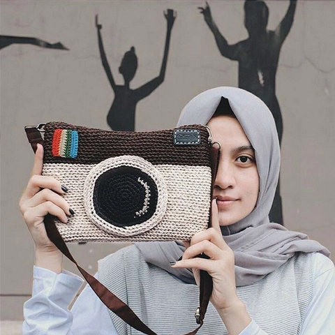 Inspiring Crochet bag Instagram