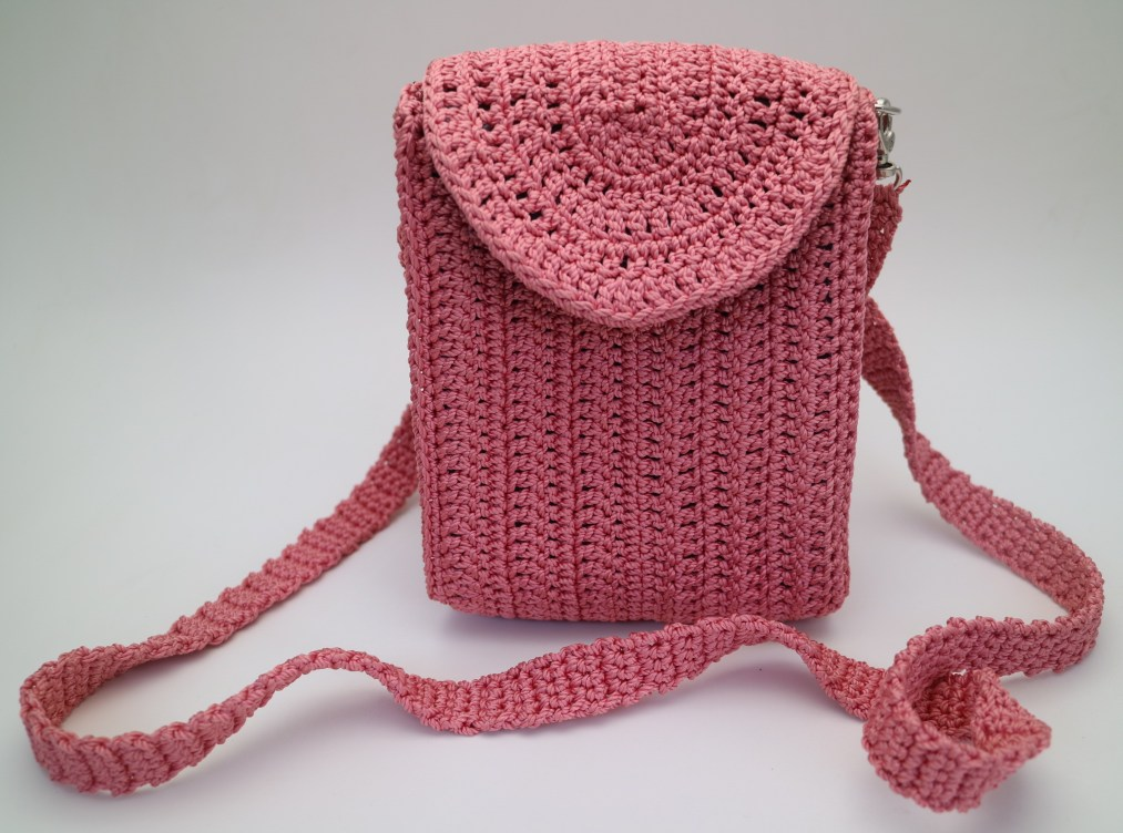 Inspiration Little small Slingbag knitting bag