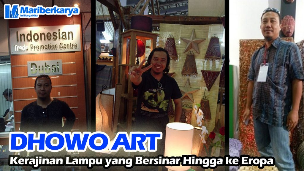 DHOWO ART craft Lights shining to Europe Thumbnail