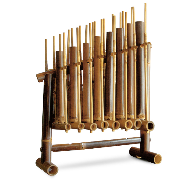 Handicrafts of bamboo handicraft-Angklung