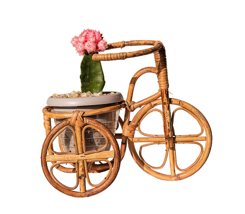 Bamboo Handicrafts-Miniature bike