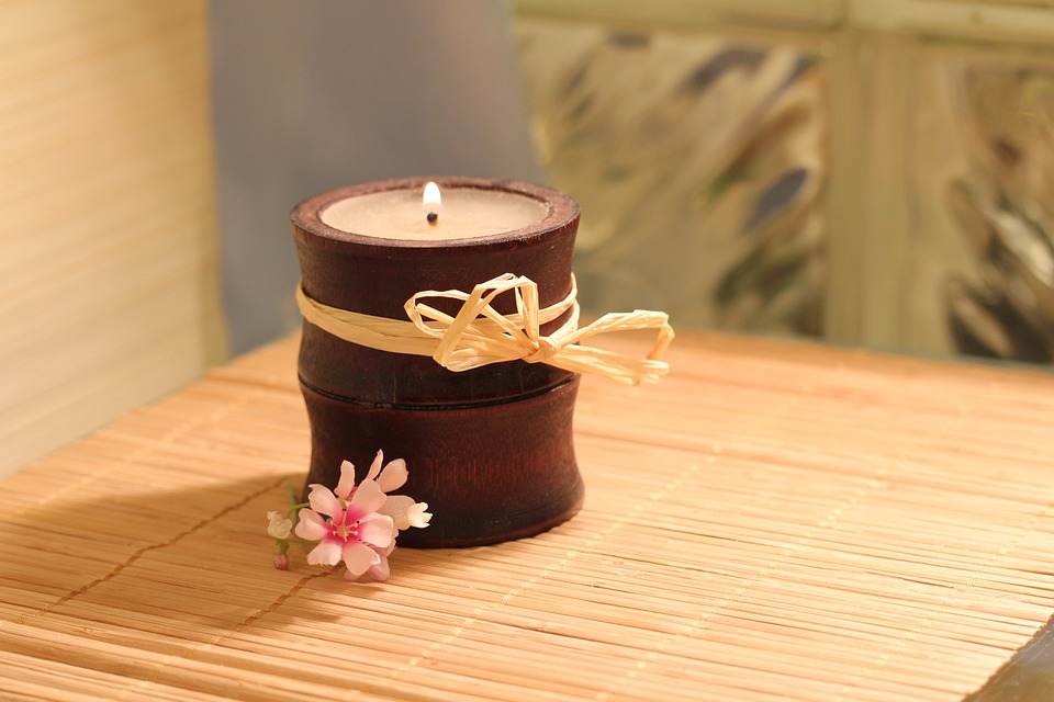 Bamboo Crafts-Candle Holder
