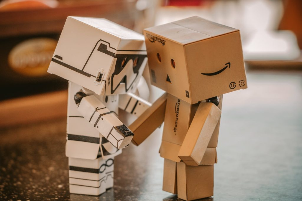 Crafts from cardboard-Danbo