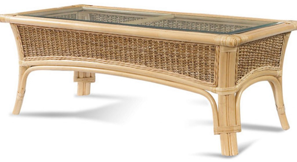 Handicrafts of Indonesian original rattan-table