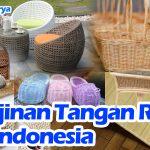 Kerajinan tangan dari Rotan asli Indonesia - Thumbnail