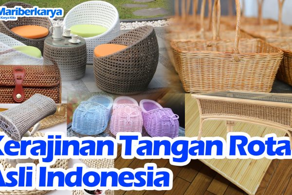 Genuine Rattan Handicrafts in Indonesia