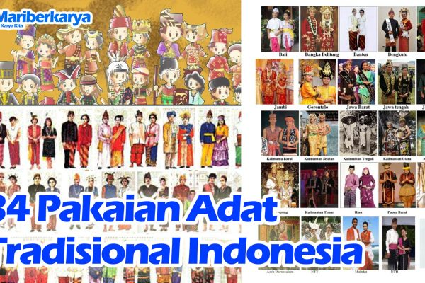 34 Traditional Indonesian Customary Clothing